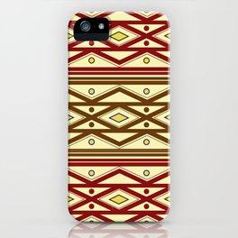 ethno pattern iPhone Case