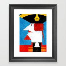 BARON MUNCHAUSEN Framed Art Print