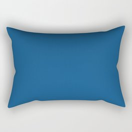 PANTONE Classic Blue Color Of The Year 2020 Rectangular Pillow