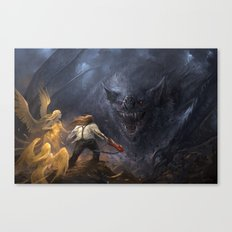 Bat out of Hell Canvas Print