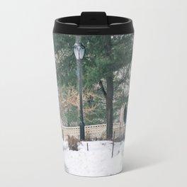 Old Couple Travel Mug