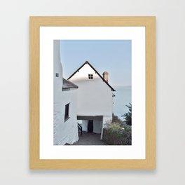 TEMPLE BAR CLOVELLY NORTH DEVON Framed Art Print