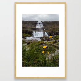 Dynjandi I Framed Art Print