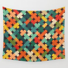 Lucky Clover Wall Tapestry
