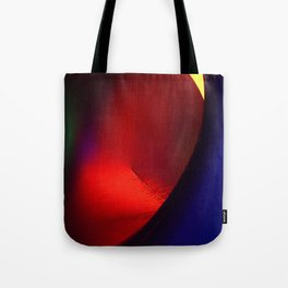 Red oval Tote Bag