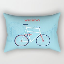 Weirdo Rectangular Pillow