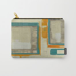 Mid Century Modern Blurred Abstract Carry-All Pouch