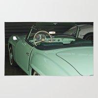 car Area & Throw Rugs featuring Car by Vlad&Lyubov