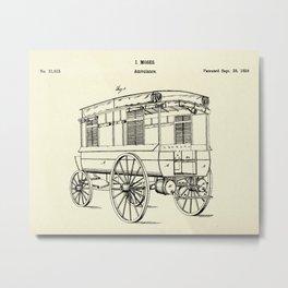 Ambulance-1868 Metal Print