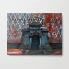 Vampire Crypt  Metal Print