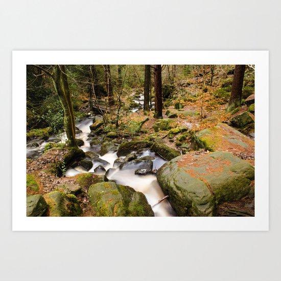 Wyming Brook Valley Art Print