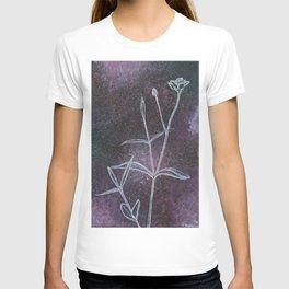 Blunt-Leaved Sandwort in Space T-shirt