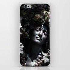 Wood Woman iPhone & iPod Skin