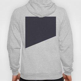Urban Geometry Navy Blue + White Hoody