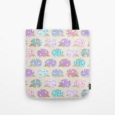 Hedgehog polkadot Tote Bag