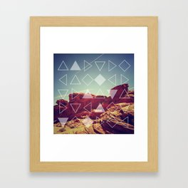 Red Rock Canyon Framed Art Print