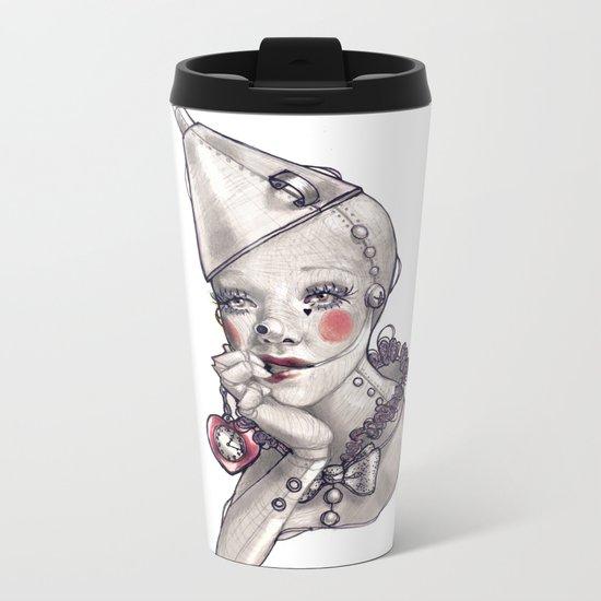 Made of Tin Metal Travel Mug