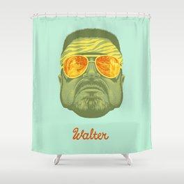 The Lebowski Series: Walter Shower Curtain