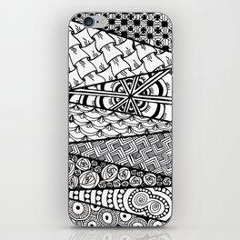 Abstract Zen Doodle iPhone Skin