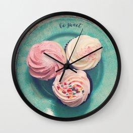 Be Sweet Wall Clock