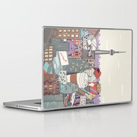toronto Laptop & iPad Skins featuring Toronto by Ashley Ross