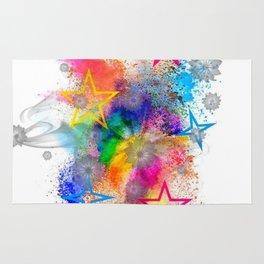 Color blobs by Nico Bielow Rug