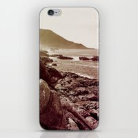 west coast iPhone & iPod Skins featuring california west coast by Li-Bro