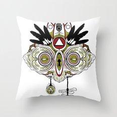Death Mask 2 Throw Pillow
