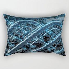 Shopping Trollies Rectangular Pillow