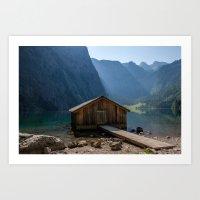 Obersee Art Print