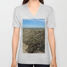 A Rugged Landscape Unisex V-Neck