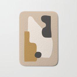 abstract minimal 16 Bath Mat
