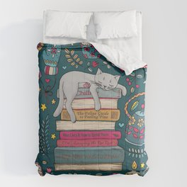 How to Hygge Like a Cat Comforters