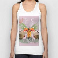 surfboard Tank Tops featuring Surfing, sunglasses with surfboard  by nicky2342