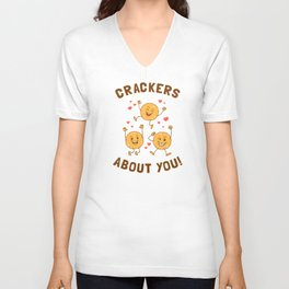 Crackers About You Unisex V-Neck