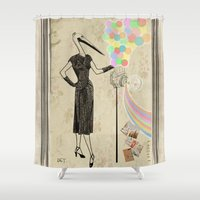 photographer Shower Curtains featuring Photographer   by ezop