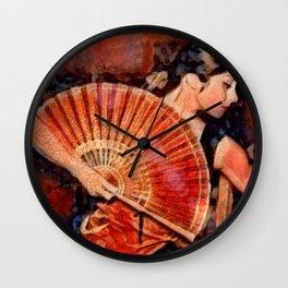 Flamenco Dancer Wall Clock