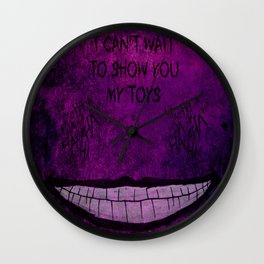 Mr. J is back Wall Clock