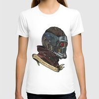star lord T-shirts featuring Star Lord Legendary Outlaw by Victoria Jennings