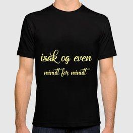 SKAM - Evak - Isak og Even minutt for minutt T-shirt