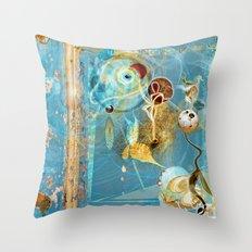 Cosmodigilogital Honey Throw Pillow
