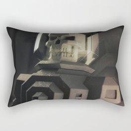 Necronaut low-polygon 3D artwork Rectangular Pillow