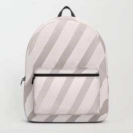 Rose Gold and Pink Diagonal Stripes Backpack