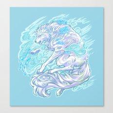 Frost Bite Canvas Print