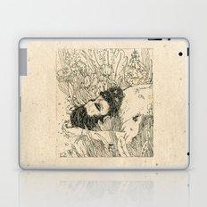 Drowning in foxdowns. Laptop & iPad Skin