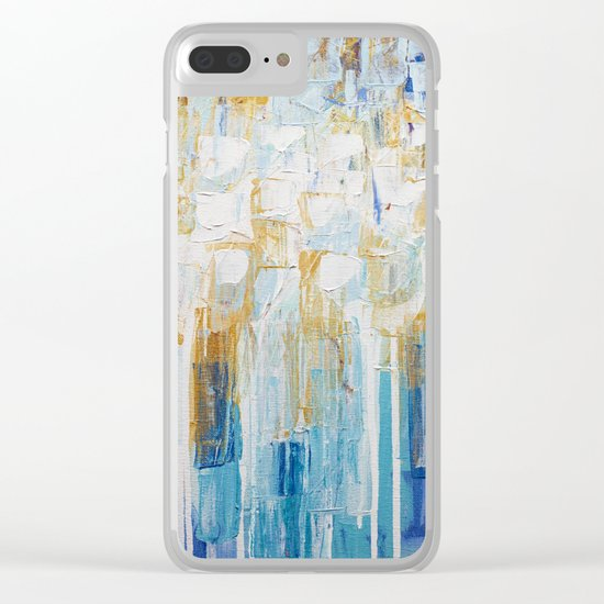 Organic Party No. 2 Clear iPhone Case