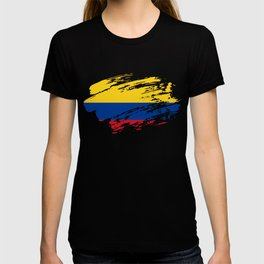 Colombia Flag T Shirt T-shirt