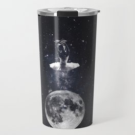 Ballerina on the moon. Travel Mug