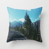 colorado Throw Pillows featuring Colorado by Gabrielle Wall
