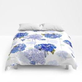 Hydrangea Nosegays Comforters
